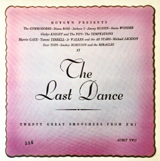 V/A - Motown Presents: The Last Dance (LP) (EX/EX-)
